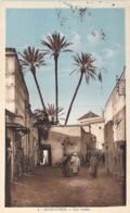 MAROC Morocco - MARRAKECH : Rue Arabe - CPA CPSM Sépia Colorisée  - Afrique Du Nord - Maghreb - Marrakech