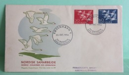 Kobenhanvn V - Danemark - 30.10.1956 -FDC 1er Jour - Coté ..€ - FDC