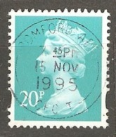 Great Britain: 1 Used Stamp From A Set, 1988, Mi#1164CS - Machins