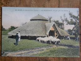 CPA (86) Vienne - LE LECHE, Près Montmorillon - LE CHAMPIGNON, Toit Abri Pour Les Moutons - Montmorillon
