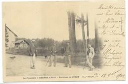 54-BERTRAMBOIS-La Frontière...1902  Animé - Frankreich