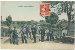 MANHOUE LANFROICOURT - Frontière Franco Allemande - Frankreich