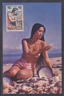 CPM Tahiti #361 - Tahitienne Carte Maxima - Tahiti