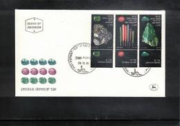 Israel 1981 Minerals FDC - Mineralien