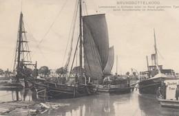 Germania -Deutschland - Schleswig - Holstein - Brunsbutter  - Brunsbuttelkoog -  Old Postcard - Brunsbuettel