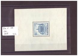 BELGIQUE No COB BLOC 6  ** ( MNH / SANS CHARNIERE) COTE: 145 €  à10 % COTE!! - WARNING:!!NO PAYPAL! - Blocs 1924-1960
