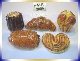 Paul .. Viennoiserie.. Série Complète ... Ref AFF : 15-2006 ..( 0028) - Anciennes