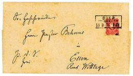 """Nr. 33 EF Aus """"BUER"""" An Pastor Behrens In (Bad) Essen - Briefe U. Dokumente"""