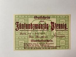 Allemagne Notgeld Pyritz 25 Pfennig - [ 3] 1918-1933 : République De Weimar
