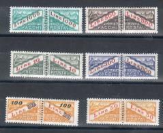 San Marino / San Marin 1965-71 -- Pacchi Postali -- ( Sassone 42/47) **MNH - Colis Postaux