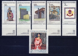 1968 Czechoslovakia MNH - Mi 1792-1797 ** MNH - Ungebraucht