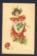 Red Rose Girl Butterfly Butterflies In Her Hair - Dulk Artist - Birthday Remembrance - Illustrators & Photographers