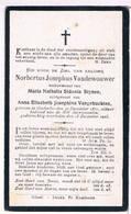 Dp. Vandewouwer Norbertus. Wed. Stynen Maria. Echtg. Vangehuchten Anna. ° Oosterloo 1871 † Oosterloo 1925 - Religion & Esotérisme
