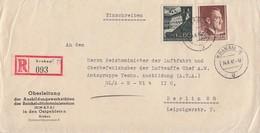GG R-Brief Mif Minr.49,82 Krakau 14.8.42 Gel. Nach Berlin Absender Ansehen !!!!!!!!!! - Occupation 1938-45