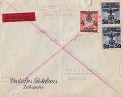 GG Brief Eilbote Mif Minr.18,2x 15 Zakopane 19.3.40 - Besetzungen 1938-45