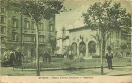 Livorno - 2 Cp - Franchise Postale 1918 WW1 To France - Livorno