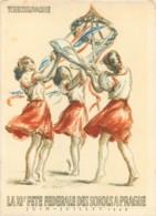 Tchéquie - Illustration XIe Fete Federale Des Sokols à PRAGUE 1948 - Tchéquie