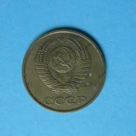 Smc. Russia USSR Soviet Coin 3 KOPEK Kopeek Kopeck Kopeks 1989 - Rusland