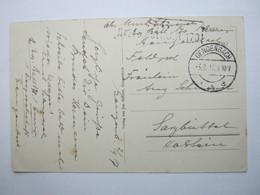 1917 , Karte  Mit Stempel GENGENBACH - Briefe U. Dokumente