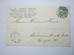 1904 , Karte  Mit Stempel BREBACH - Briefe U. Dokumente