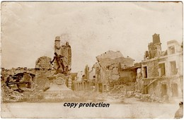 Saint Mihiel, Denkmal, Foto Feldpostkarte 1916, Stempel 14. Infanterie Regiment, 4. Komp. - Saint Mihiel