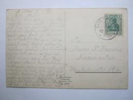 1914 , Karte  Mit KOS  Stempel SANCT - PETER - Briefe U. Dokumente