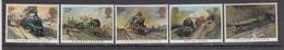 Great Britain 1985 - Trains, Set Of 5 Stamps, MNH** - 1952-.... (Elisabeth II.)