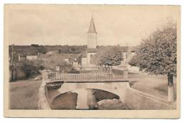 CPA COURCELLES - CHAUSSY, QUARTIER DE L'EGLISE CATHOLIQUE, MOSELLE 57 - Frankreich