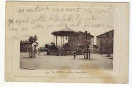 Cpa  La Seyne  Place Ledru Kelin - La Seyne-sur-Mer