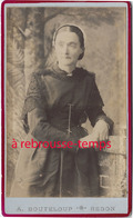 CDV à REDON- Photographe A. Bouteloup-portrait De Femme - Anciennes (Av. 1900)