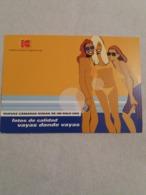 "(B2) CPM Pub KODAK En Espagnol "" Comparte Momentos. Comparte Tu Vida."" - Publicité"