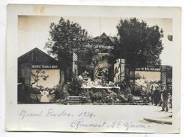 """ANCIENNE PHOTO CHAUMONT, LE GRAND PARDON 1934, """" VENEZ TOUS A MOI VOUS QUI TRAVAILLEZ CAR JE FUS OUVRIER"""" HAUTE MARNE 52 - Photos"""
