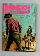 Rocky Rider N°11 La Dernière Erreur - Ranger Roy En Avant, Ranger - Du Pétrole Sous-marin à L'hydrogène De 1974 - Petit Format