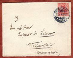 Brief, Germania, Strassburg Nach Wolfenbuettel 1910 (91326) - Briefe U. Dokumente