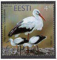 Estonia 2004 .White Stork. 1v: 4.40   Michel # 486 - Estonia