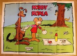 POSTER - Hobby Et Koala - Spirou - Affiches & Offsets