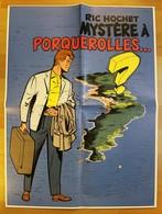 POSTER - RIC HOCHET - Mystères à Porquerolles - Affiches & Offsets