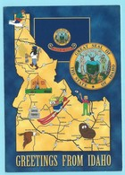 0731 - USA - IDAHO - MAP - Cartes Géographiques