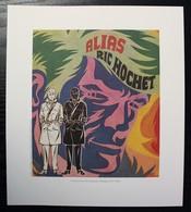 EX-LIBRIS - DUCHATEAU - Alias Ric Hochet - Ex-libris