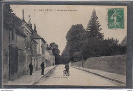 Carte Postale  61. Bellême Avenue Carnot   Très Beau Plan - Autres Communes