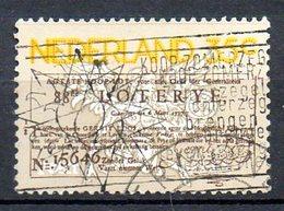 PAYS-BAS. N°1034 Oblitéré De 1976. Loterie. - Giochi
