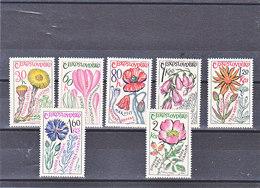 TCHECOSLOVAQUIE 1965 FLEURS Yvert 1448-1454 NEUF** MNH - Tschechoslowakei/CSSR
