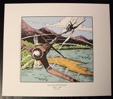 EX-LIBRIS - HUBINON - BUCK DANNY - Les Japs Attaquent - Illustrateurs G - I