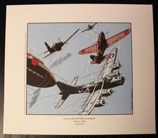 EX-LIBRIS - HUBINON - BUCK DANNY - Les Mystères De Midway - Ex-libris