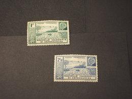 NOUVELLE CALEDONIE - 1941 PETAIN 2 VALORI  - NUOVI(+) - Nuova Caledonia