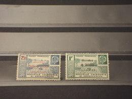 NOUVELLE CALEDONIE - 1944 OPERE  2 VALORI  - NUOVI(++) - Nuova Caledonia