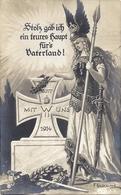 CPA MILITAIRE 1914 Voir Tampon Au Dos METZ - Alemania