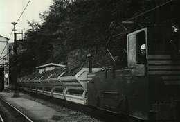 """Rodange MMR Locomotive électrique """"JEUMONT"""" Tractant Une Rame De Wagons Auto-nettoyeurs Inventeur : Nicolas FLESCH - Esch-Alzette"""