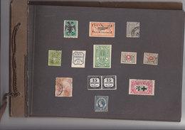 LOT DE 135 FAUX DU MONDE - Briefmarken