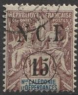 Nouvelle Calédonie 1900-01 N° 55 Faux De Fournier (F18) - Used Stamps